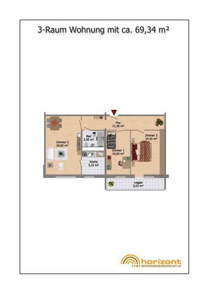 Qm Wohnung