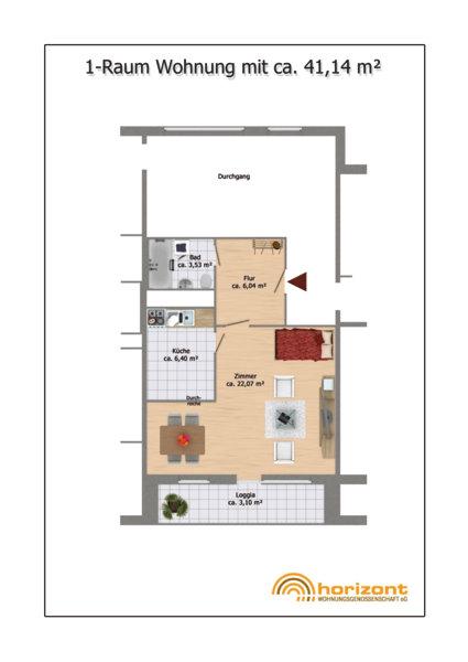 Raum-Wohnungen