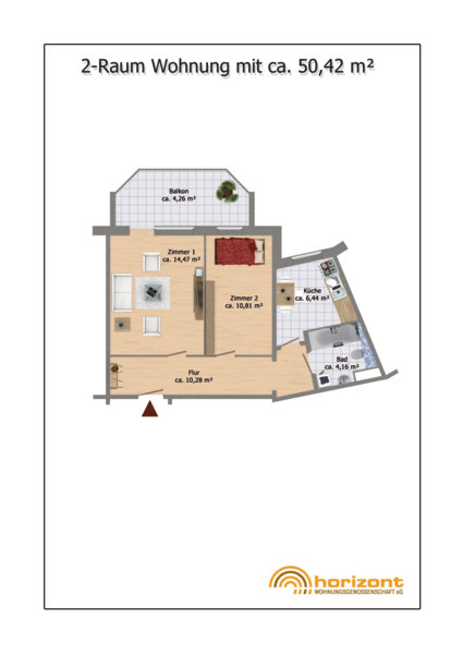 Wohnung Hh